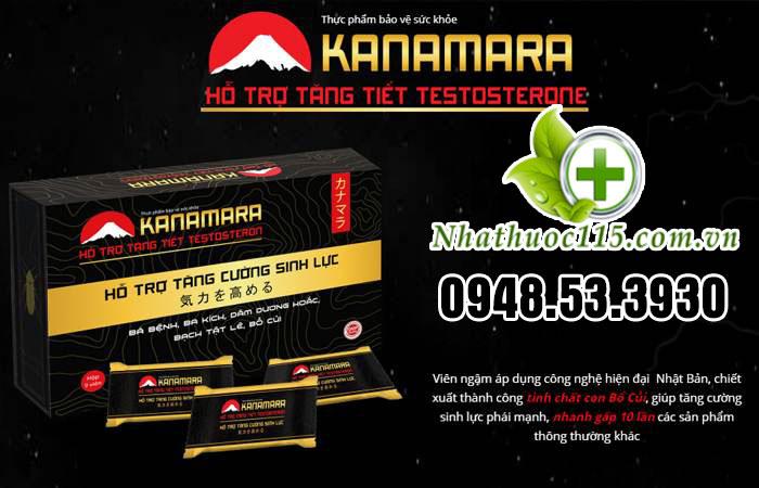 Viên ngậm tăng cao sinh lực Kanamara