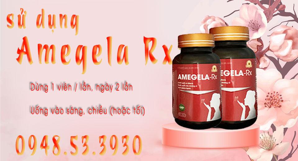 sử dụng amegela rx